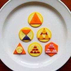 中根紀子の野菜アート