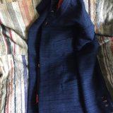 裂織りのジャケット