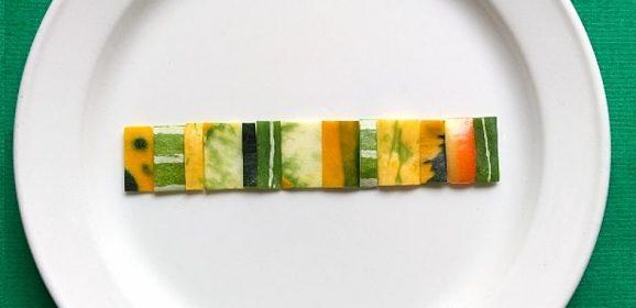 中根紀子の野菜アート シリーズ「野菜礼讃」